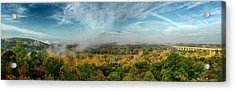Acrylic Print featuring the photograph Cuyahoga Valley Panarama by Daniel Behm