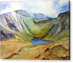Cwm Idwal Snowdonia Acrylic Print by Cynthia Roudebush