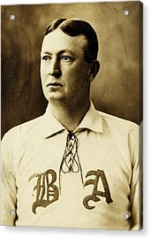 Cy Young Acrylic Print by Benjamin Yeager