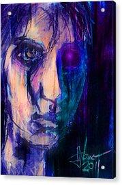 Cyborg 2 Acrylic Print by Jim Vance