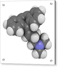 Cyclobenzaprine Molecule Acrylic Print by Molekuul