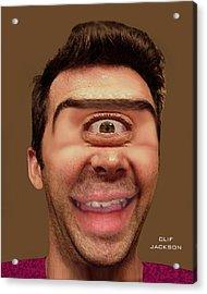 Cyclops Cramer Acrylic Print by Clif Jackson