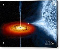 Cygnus X-1 Stellar Black Hole Acrylic Print