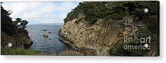 Cypress Cove Panorama Acrylic Print
