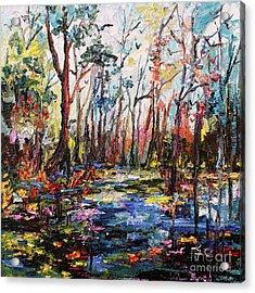 Cypress Gardens South Carolina Acrylic Print