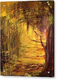 Cypress Acrylic Print