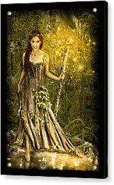 Cypress Queen Acrylic Print