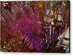 Cypress Swamp Abstract #2 Acrylic Print