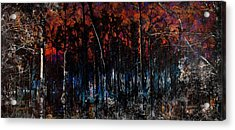 Cypress Swamp Abstract #1 Acrylic Print