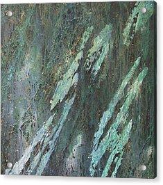 Cyprium Opus-001 Acrylic Print by Pat Bullen-Whatling