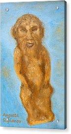 Cyprus Lion-like God Acrylic Print by Augusta Stylianou