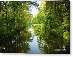 D And R Canal  Acrylic Print