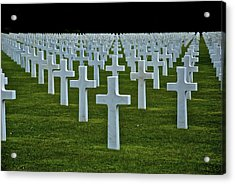 D-day's Price Acrylic Print by Eric Tressler