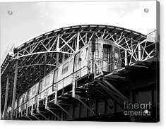 D-train Acrylic Print by John Rizzuto