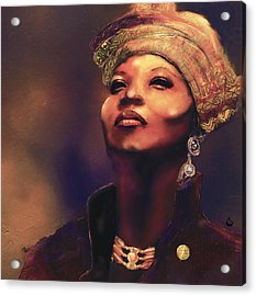 Da Queen Acrylic Print