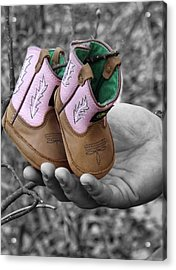 Daddy's Lil Country Girl Acrylic Print