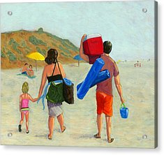 Dad's Day Off Acrylic Print