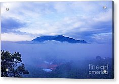 Dai Binh Mountain Dew Spread Acrylic Print