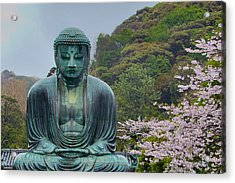 Daibutsu Buddha Acrylic Print