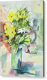 Daisy Display Acrylic Print