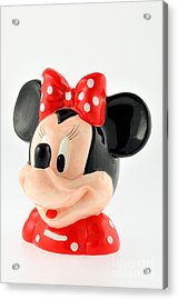 Minnie Mouse Acrylic Print by George Atsametakis
