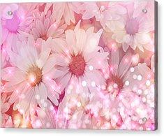 Daisy Sparkles Acrylic Print