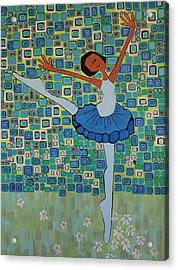 Daizies' Ballet Acrylic Print