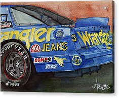Dale Earnhardt's 1987 Chevrolet Monte Carlo Aerocoupe No. 3 Wrangler  Acrylic Print