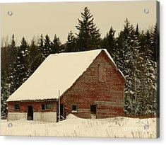 Dale Lane Barn Acrylic Print
