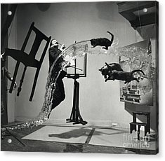 Dali Atomicus (1948) Acrylic Print by Library Of Congress