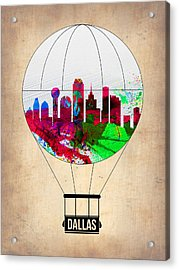 Dallas Air Balloon Acrylic Print