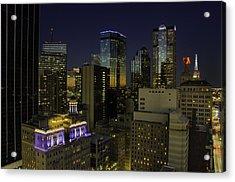 Dallas Cityscape Acrylic Print