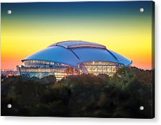Home Of The Dallas Cowboys Acrylic Print