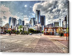 Dallas Near Farmers Market Acrylic Print