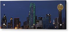 Dallas Skyline Acrylic Print