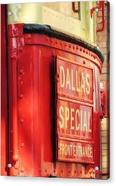 Dallas Special Front Entrance Acrylic Print