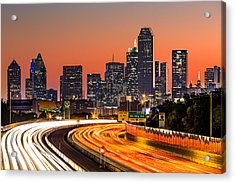 Dallas Sunrise Acrylic Print