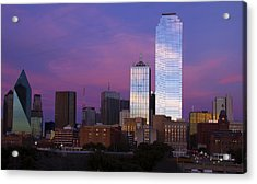 Dallas Sunset Acrylic Print