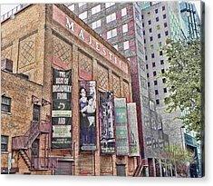 Dallas Texas Majestic Theater Acrylic Print