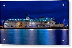 Dalmatia Acrylic Print by Ships in Split