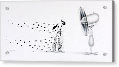 Dalmita Acrylic Print by Angel Ortiz