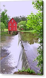 Dam At Starrs Mill Acrylic Print