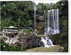 Dam Bri Waterfall, Da Lat, Vietnam Acrylic Print by Sheldon Levis