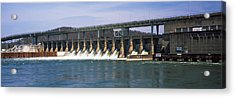 Dam On A River, Chickamauga Dam Acrylic Print
