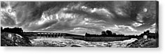 Dam Panoramic Acrylic Print