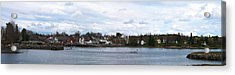 Damariscotta  Acrylic Print by Guy Whiteley
