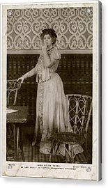 Dame Ellen Alice Terry (1847  1928) Acrylic Print by Mary Evans Picture Library
