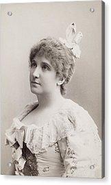 Dame Nellie Melba (1861-1931) Acrylic Print by Granger