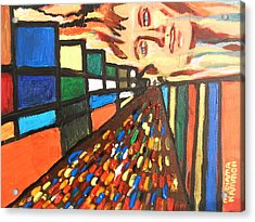 Dame Tessa 01 Acrylic Print by Mudiama Kammoh