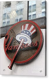 Damn Yankees Acrylic Print by David Bearden